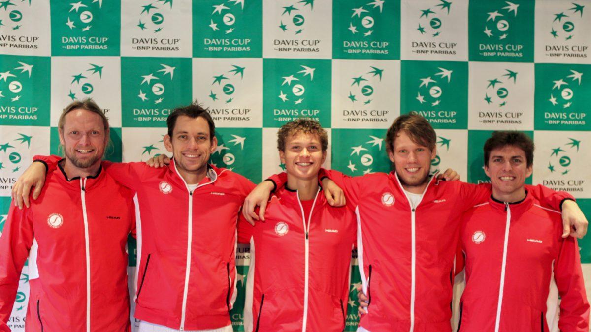 Davis Cup-holdet mod Marokko